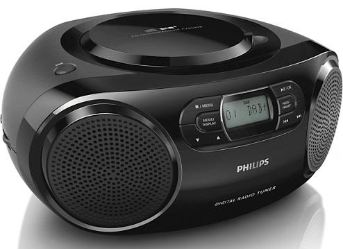 PHILIPS AZB500/12 rádio s CD/DAB