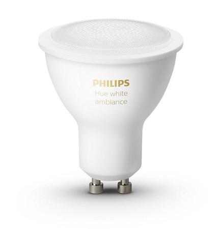 Žárovka LED Philips Hue Bluetooth 5W, GU10, White Ambiance