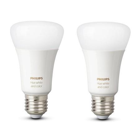 Žárovka LED Philips Hue Bluetooth 9W, E27, White and Color Ambiance (2ks)