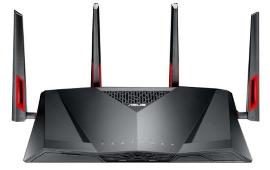 ASUS DSL-AC88U, AC3100 Bezdrátový dvoupásmový gigabitový ADSL/VDSL router s rodičovským zámkem, 90IG02W1-BN3G10
