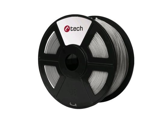 C-TECH tisková struna ( filament ) , PLA, 1,75mm, 1kg, mramor, 3DF-PLA1.75-MR
