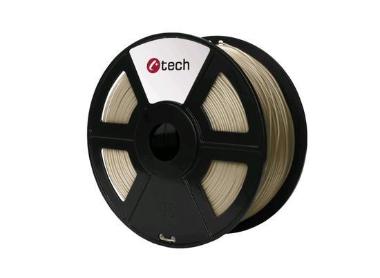 C-TECH tisková struna ( filament ) , PLA, 1,75mm, 1kg, bronz, 3DF-PLA1.75-BZ