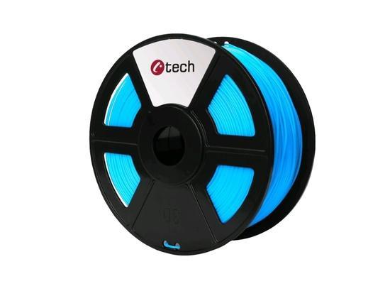 C-TECH tisková struna ( filament ) , PLA, 1,75mm, 1kg, nebeská modrá, 3DF-PLA1.75-SB
