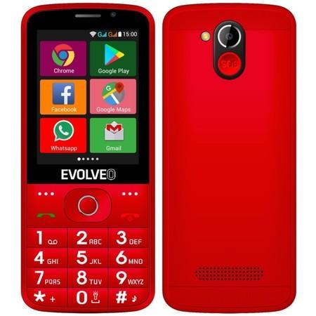 Mobilní telefon Evolveo EasyPhone AD - eervený