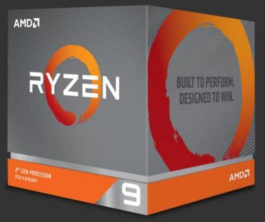 AMD Ryzen 9 16C/32T 3950X (3.5GHz,70MB,105W,AM4) box + Wraith Prism with RGB LED cooler, 100-100000051WOF