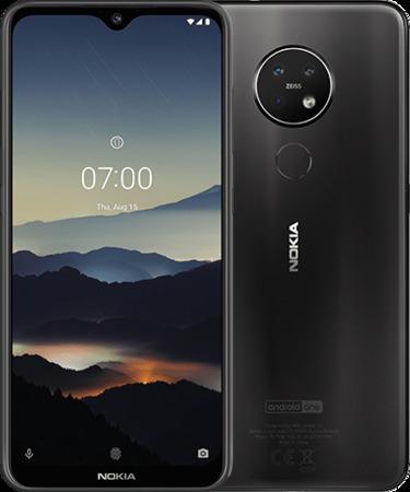Nokia 7.2 6GB/128GB černá