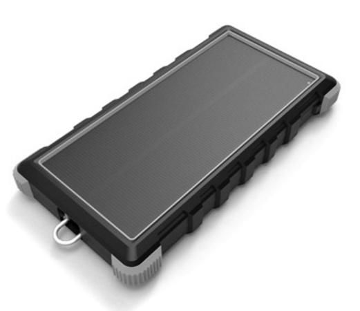 Solární powerbanka VIKING W10 10000mAh, Outdoorová s IP67, Podpora rychlonabíjení QC3.0, USB-C