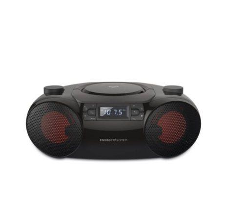 ENERGY Boombox 6 přenosný CD přehrávač kompatibilní s MP3 (Bluetooth, CD Player, USB MP3 player, FM Radio, 12W)