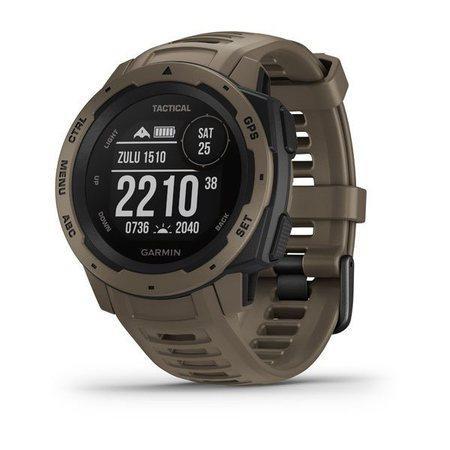 GARMIN GPS chytré hodinky Instinct Tactical Coyote Tan Optic