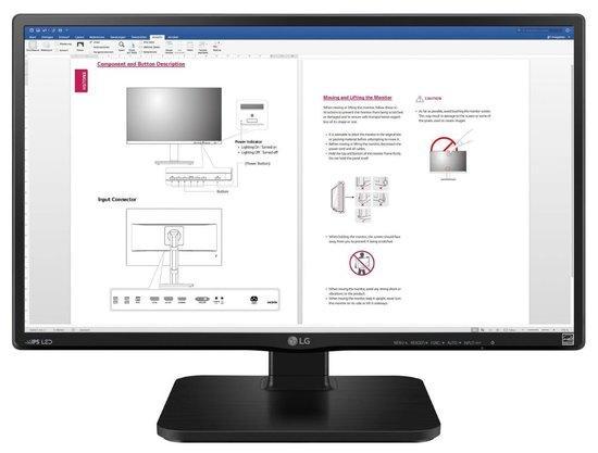 """LG MT IPS LCD 23,8"""" 24BK450H - IPS panel, 1920x1080, 250cd, D-Sub, HDMI, vysk stavitelny, 24BK450H"""