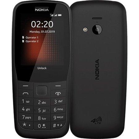 Nokia 220 4G Dual SIM černá
