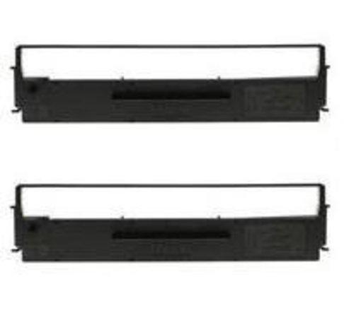 Epson originální páska do tiskárny, C13S015613, černá, 2ks, Epson LQ-300, +, +II, 570, +, 580, 8xx,, C13S015613