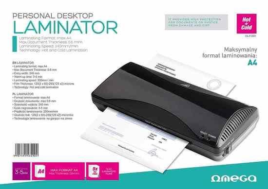 OMEGA laminátor A4, OLP280