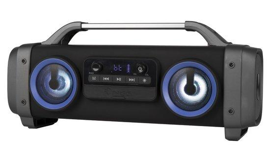 NGS STREET BREAKER MINI/ BOOMBOX/ BT repro/ 2.2 system 100W/ LED/ Karaoke/ Černý