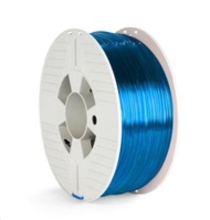 VERBATIM 3D Printer Filament PET-G 2.85mm 1000g blue transparent, 55064
