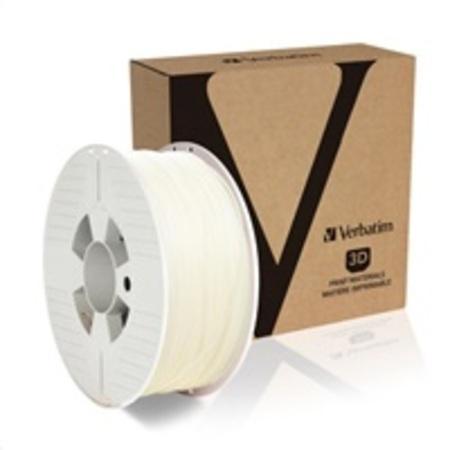 VERBATIM 3D Printer Filament PLA 1,75mm 1kg natural transparent, 55317
