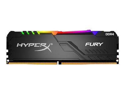 Kingston DDR4 64GB (Kit 4x16GB) HyperX FURY DIMM 2400MHz CL15 RGB, HX424C15FB3AK4/64