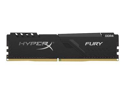 Kingston DDR4 32GB (Kit 4x8GB) HyperX FURY DIMM 3466MHz CL16 SR x8 černá, HX434C16FB3K4/32
