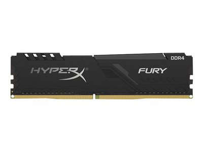 Kingston DDR4 32GB (Kit 2x16GB) HyperX FURY DIMM 2666MHz CL16 černá