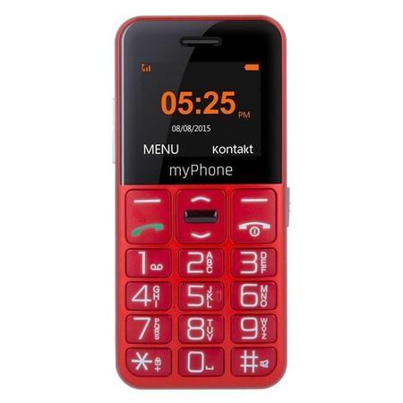 Mobilní telefon myPhone HALO EASY - červený