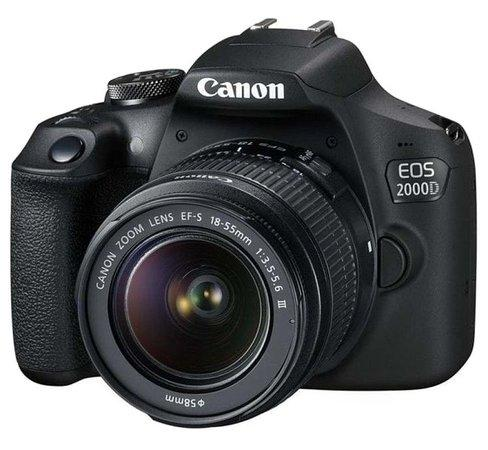 Canon EOS 2000D zrcadlovka + 18-55 DC