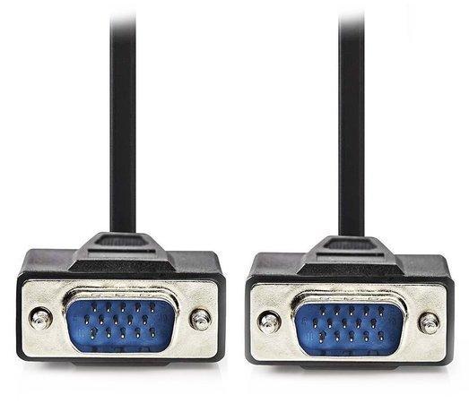 NEDIS kabel VGA (D-SUB)/ zástrčka VGA - zástrčka VGA/ černý/ 20m