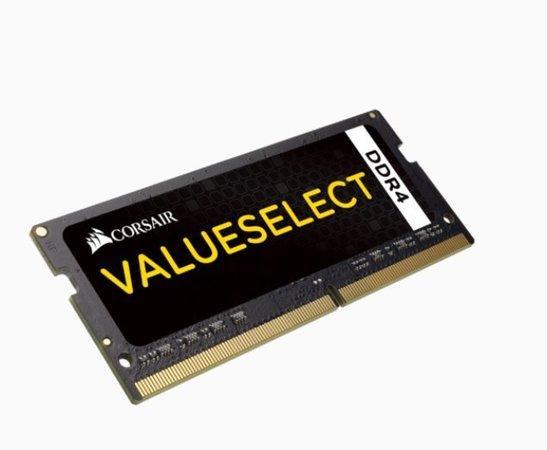 Corsair Value Select SODIMM DDR4 4GB 2133MHz CL15 CMSO4GX4M1A2133C15, CMSO4GX4M1A2133C15