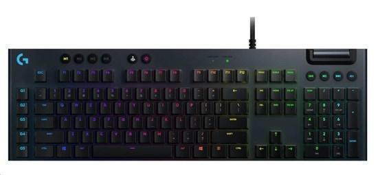 Logitech Keyboard G815, Mechanical Gaming, Lightsync RGB,Tacticle, US, 920-008992
