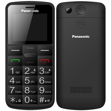 Mobilní telefon Panasonic KX-TU110EXB Dual SIM - černý