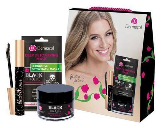 Dermacol Dárková sada kosmetiky s antioxidačními účinky Black Magic