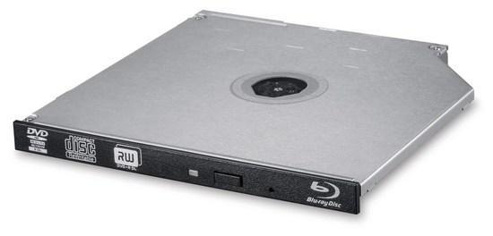 Internal BD-RE HLDS BU40N, 9.5mm Slim Blu-ray writer