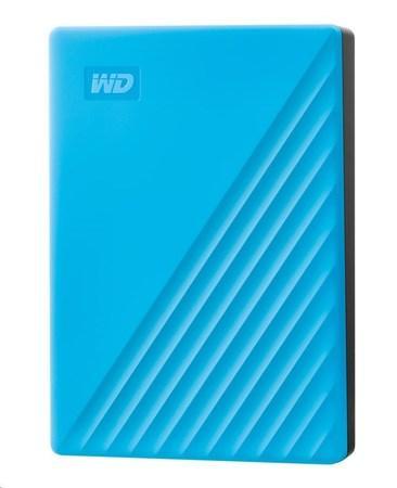 "WD My Passport portable 4TB Ext. 2.5"" USB3.0 Blue, WDBPKJ0040BBL-WESN"