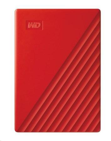 "WD My Passport portable 4TB Ext. 2.5"" USB3.0 Red, WDBPKJ0040BRD-WESN"