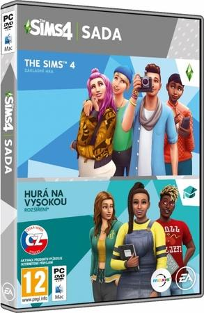 PC The Sims 4 + EP8 Hurá na vysokou Bundle