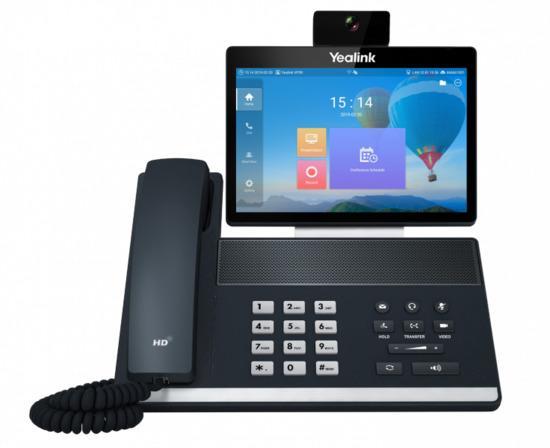 """Yealink VP59 IP tel., 8"""" bar. LCD, 27 prog. tl., GigE, VCS, PV279203"""