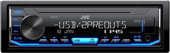 JVC KD-X176 AUTORÁDIO S USB/MP3