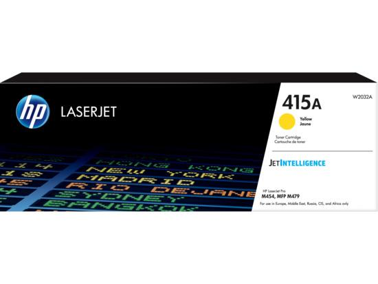HP 415A Yellow LaserJet Toner Cartridge, W2032A, W2032A