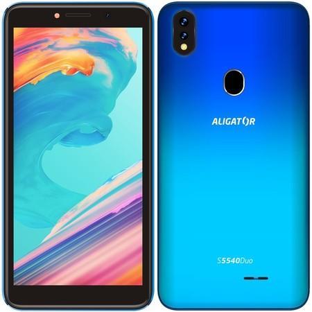 Mobilní telefon Aligator S5540 Duo - modrý