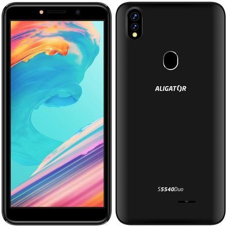 Mobilní telefon Aligator S5540 Duo - černý