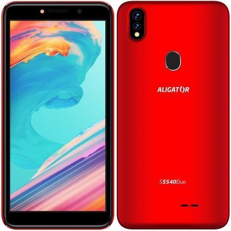Mobilní telefon Aligator S5540 Duo - červený