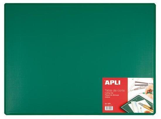Řezací podložka, zelená, A2, 600x450x2 mm, APLI