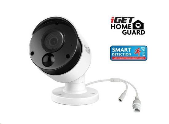 iGET HOMEGUARD HGNVK930CAM Přídavná PoE FullHD kamera k kamerovému systému iGET HGNVK85304, PoE napájení, IP66, HGNVK930CAM