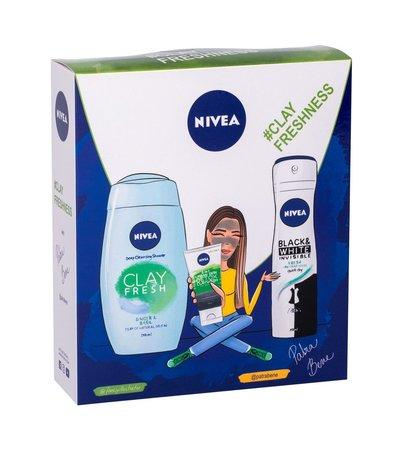 Sprchový gel Nivea - Clay Fresh Ginger & Basil 250 ml