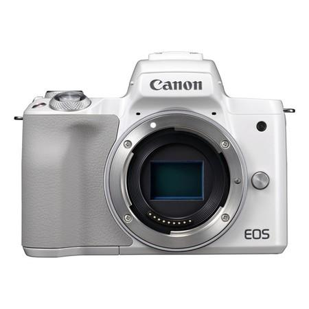 Canon EOS M50 Body WHITE, bezzrcadlovka