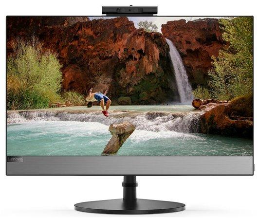 """LENOVO PC V530-22ICB AiO - i5-9400T,21.5"""" 1920x1080 IPS,8GB,256SSD,UHD630,DVD,HDMI,LAN,6xUSB,kl.+mys,W10P,1Y on-site, 10US00J5MC"""