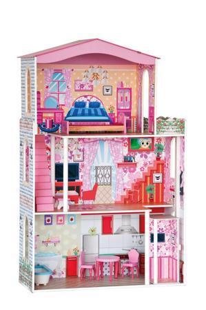 WOODY, Třípatrový domeček pro panenky