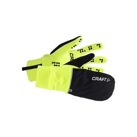 Rukavice CRAFT Hybrid Weather XS žlutá