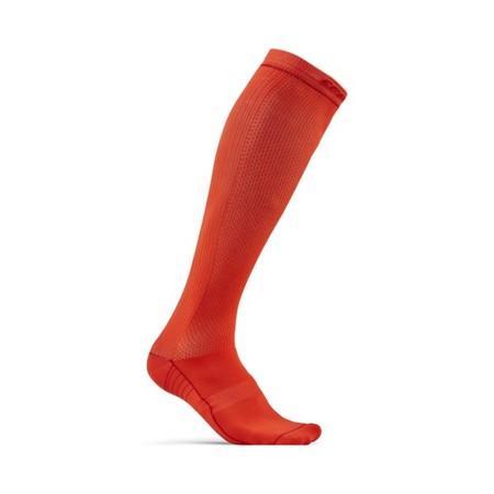 Podkolenky CRAFT Body Control 39-42 oranžová s červenou