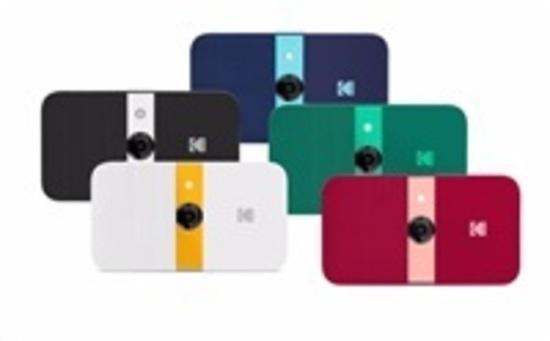 KODAK Smile Camera - instantní fotoaparát - černý/bílý