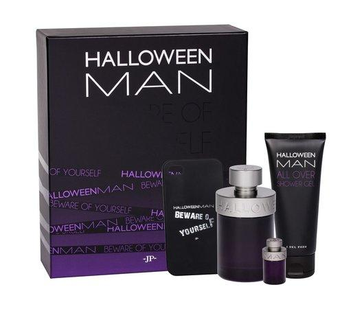 Jesus del Pozo Halloween MAN EDT 125 ml + EDT MINI 4 ml + SG 100 ml + obal pro IPhone